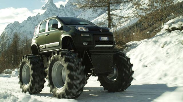 Panda 4x4 monster truck ovunque performancemag it for Panda 4x4 extreme