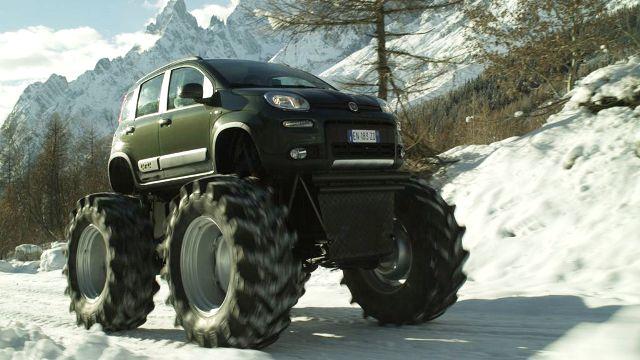 Panda 4x4 monster truck ovunque performancemag it for Immagini panda 4x4