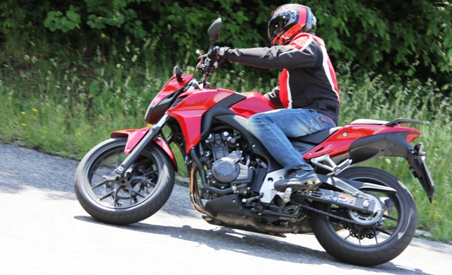 Test Honda Cb500f Essenza Naked Performancemagit