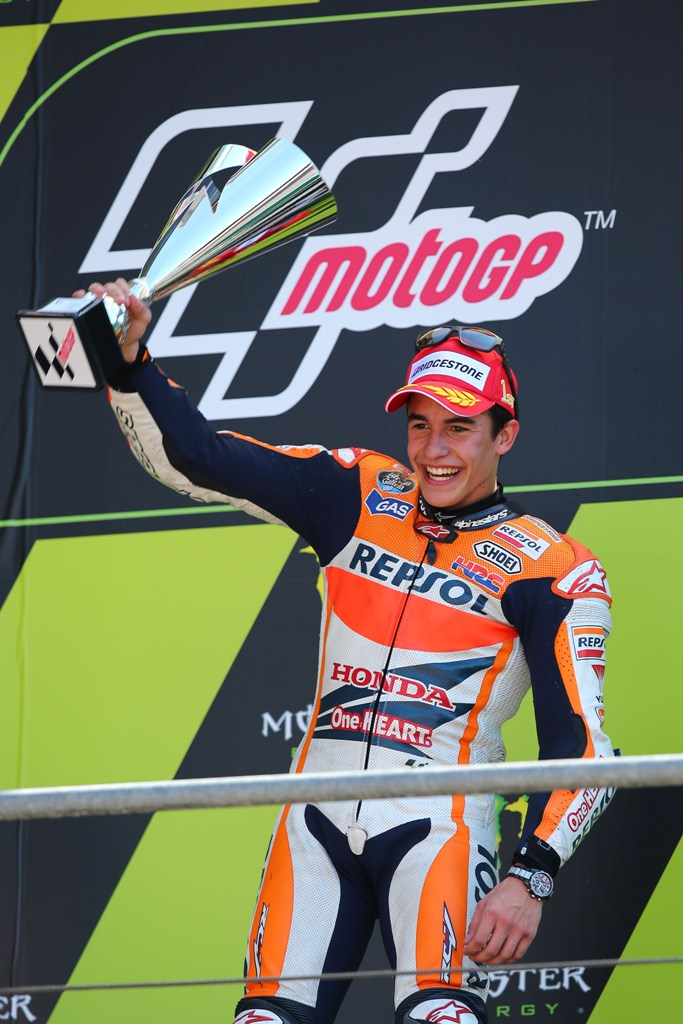 Mondiale GP -  La vittoria di Marc Marquez