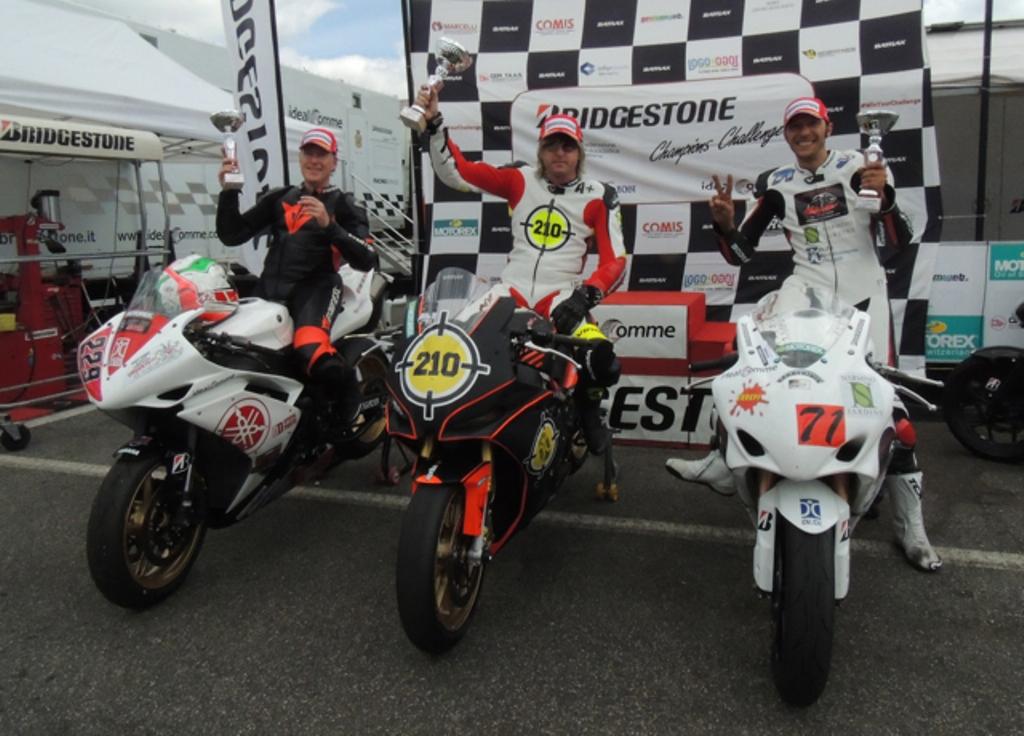 Podio classe 1000 - Di.Di. Bridgestone Cup di Vallelunga