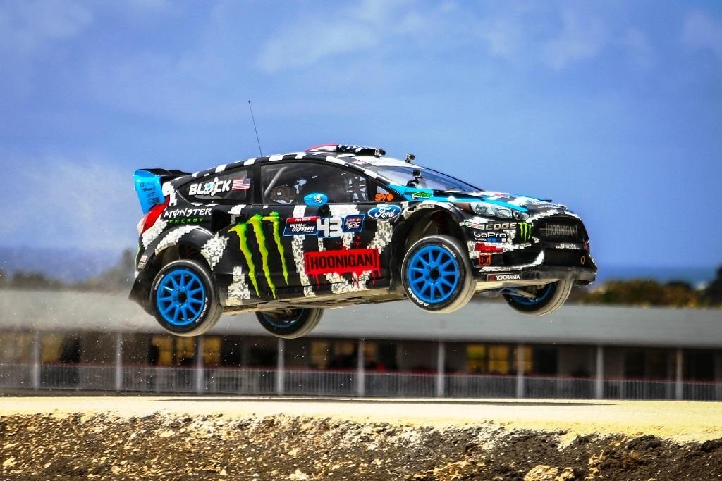 Ken Block al FIA Rallycross Norvegia