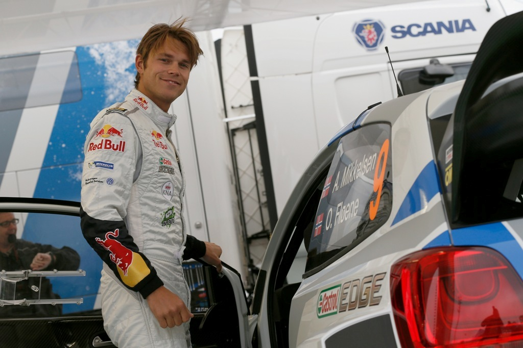 Andreas Mikkelsen ottimo piazzamento in Polonia WRC 2014