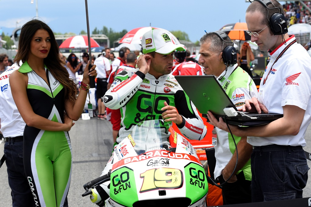 Alvaro Bautista ritirato in Catalunya