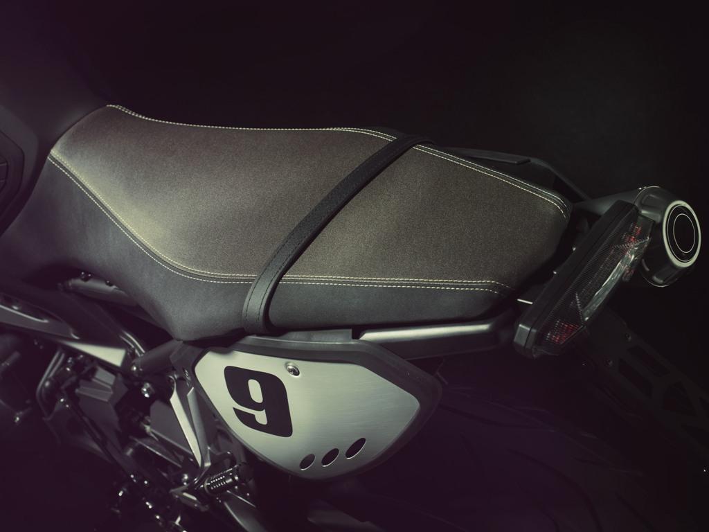 Una nuova sella per la Street Tracker Yamaha