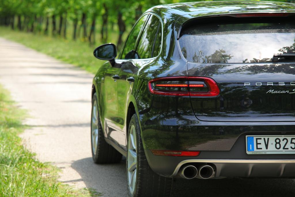Porsche Macan, agile sulle strade del trevigiano