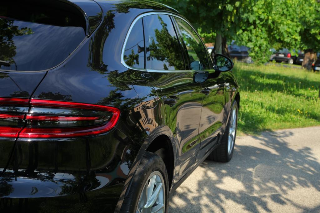Le fiancate di Macan ricordano stile del passato Porsche