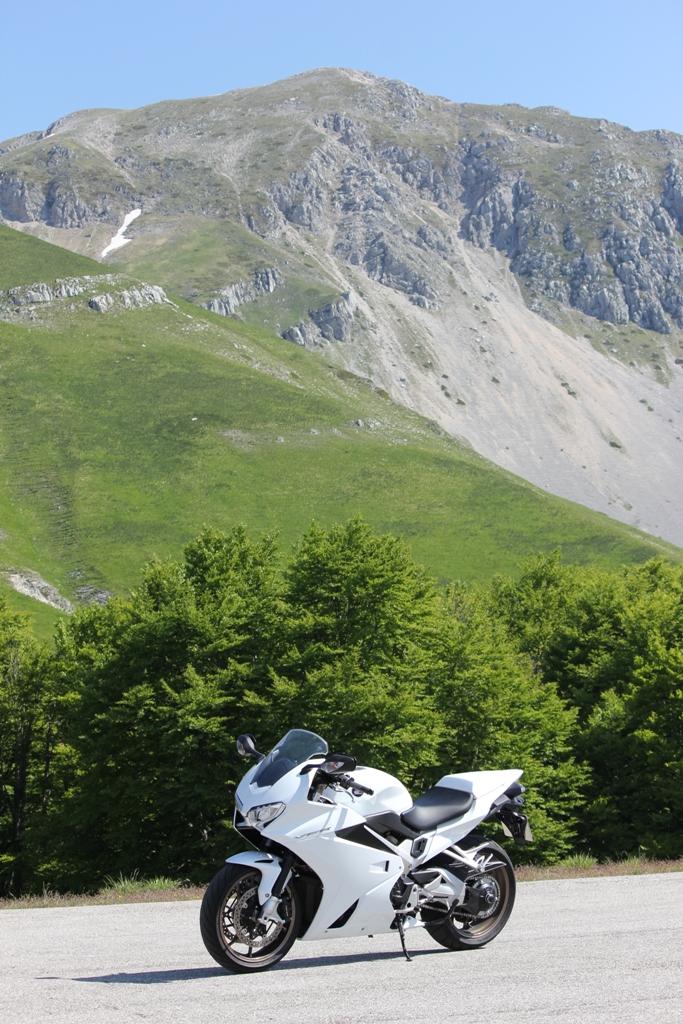 Honda VFR800F 2014, sport & touring