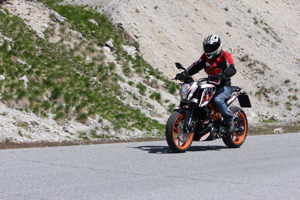 KTM Duke 390, 44 Cv di divertimento