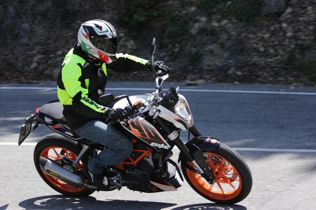 La KTM Duke 390