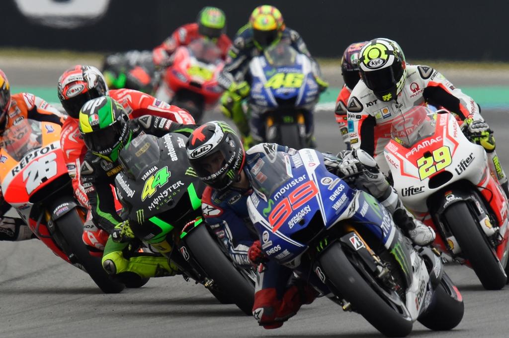 Partenza MotoGP Assen