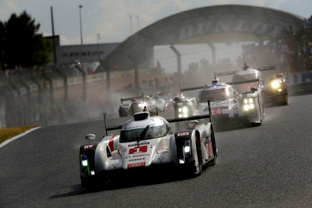 Audi vince una gara difficile a Le Mans