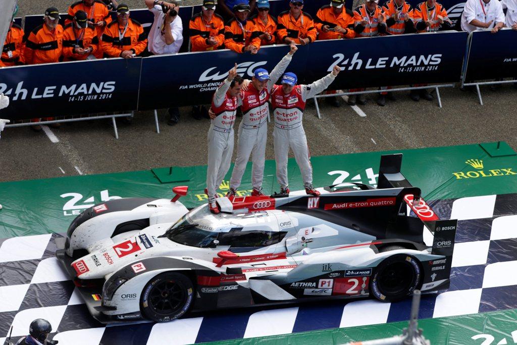 Il grande e meritato trionfo Audi alla 24 Ore di Le Mans 2014