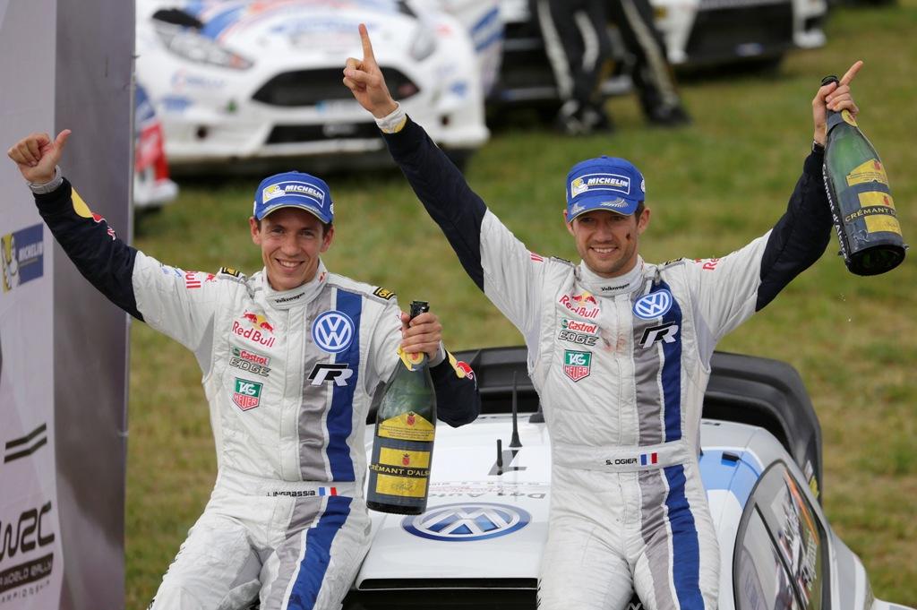 Podio tutto VW nel Rally di Polonia con Ogier e Ingrassia