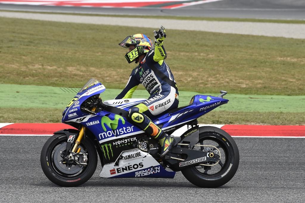 Valentino Rossi 2° a Montmelò dopo la lotta con Marquez