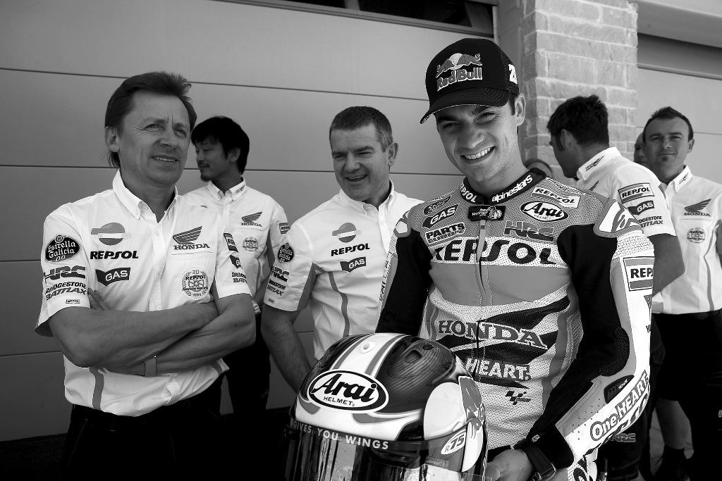Dani Pedrosa con Honda fino al 2016
