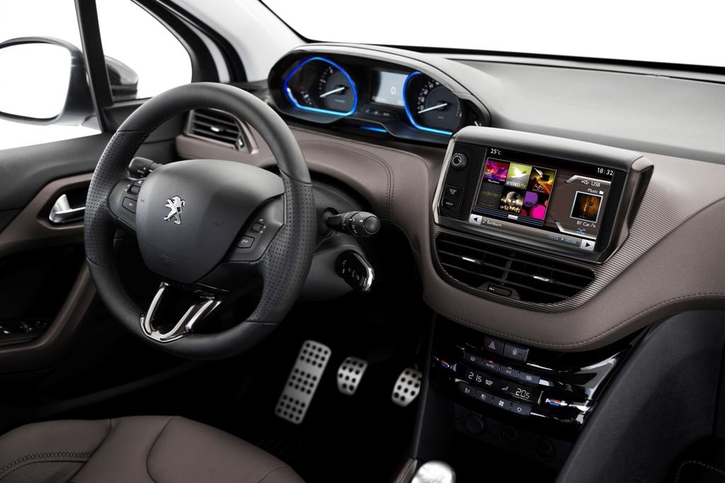 Gi interni pratici di 2008 Peugeot