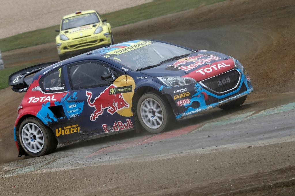Molte Case sono impegnate nel World RX, tra queste anche Peugeot