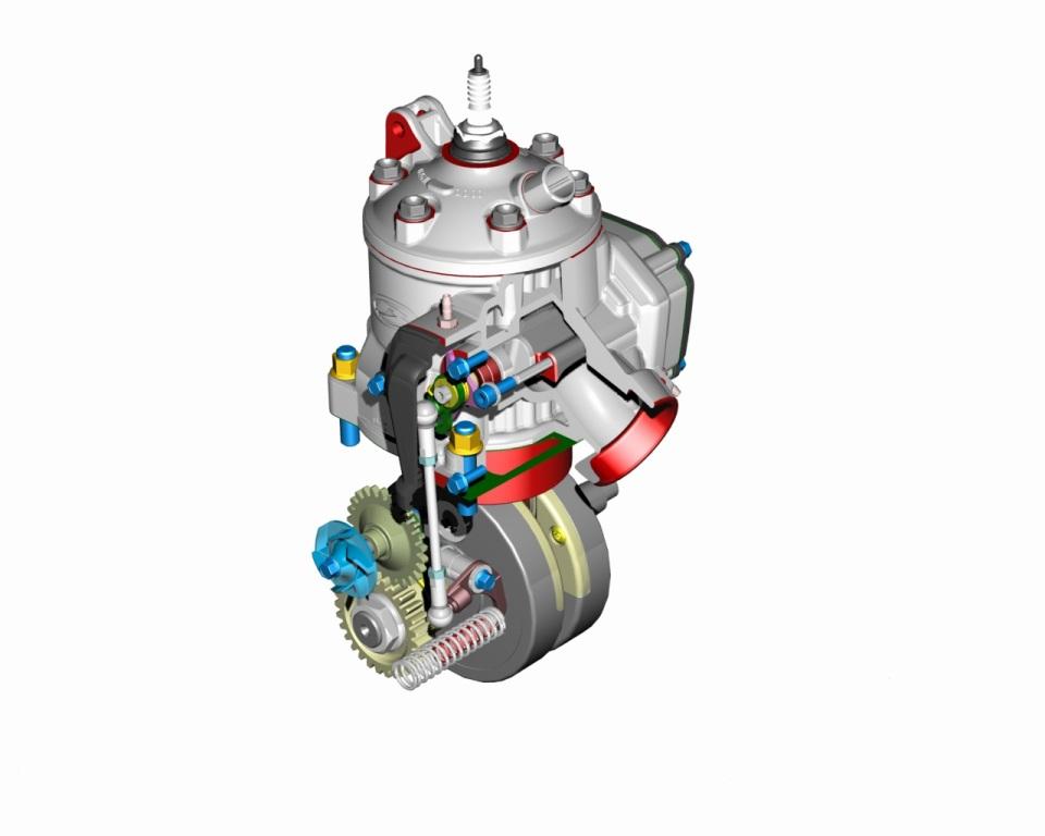 Il nuovo cilindro della gamma RR 300 Beta