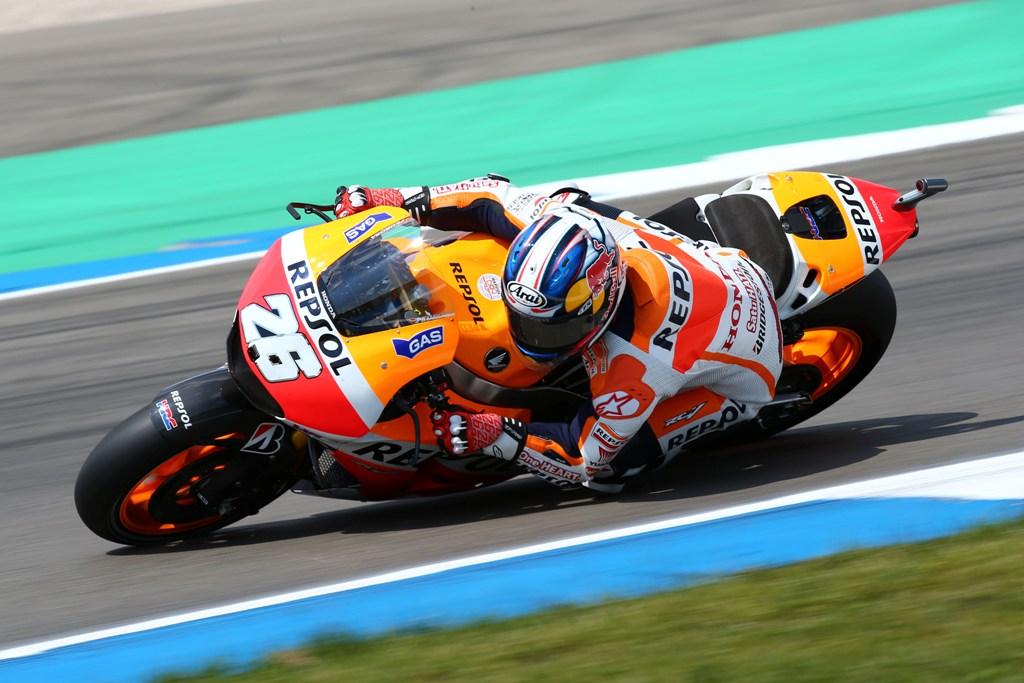 Dani Pedrosa attualmente terzo nel Motomondiale