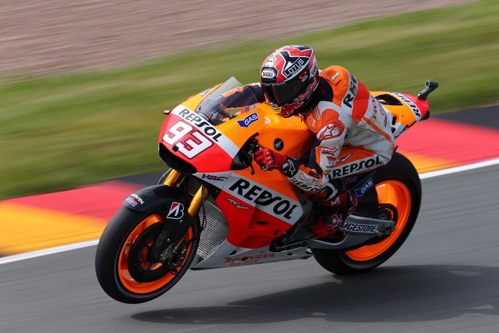 Marc Marquez, pole position anche in Germania