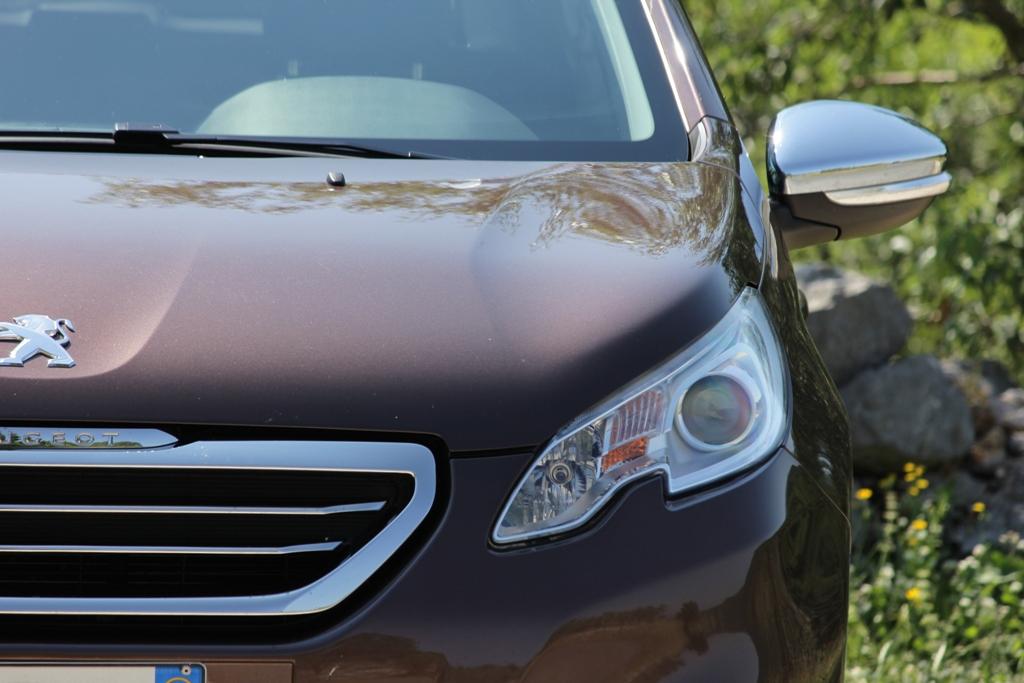 Il frontale e la calandra di 2008 Peugeot