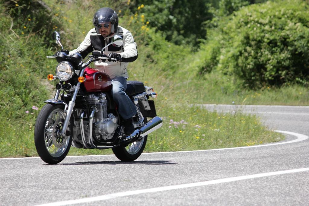 Tutta da gustare la Honda CB1100EX