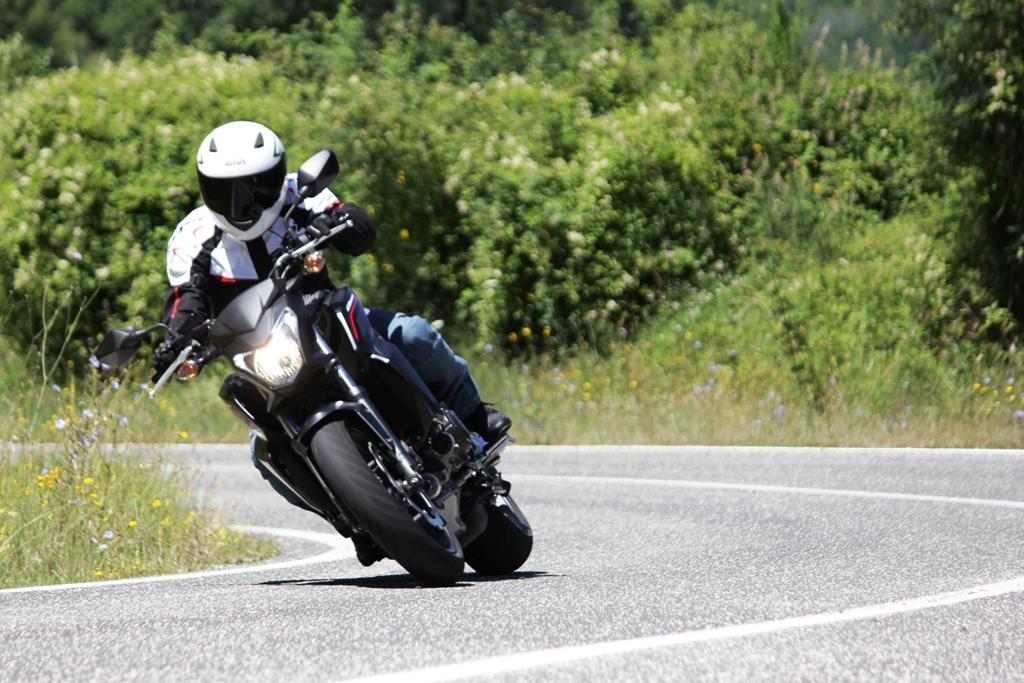 Incredibile l'utilizzo motore della Honda CB650F