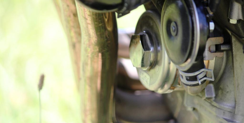 Il filtro olio si trova in posizione nascosta, in evidenza lo scambiatore acqua-olio