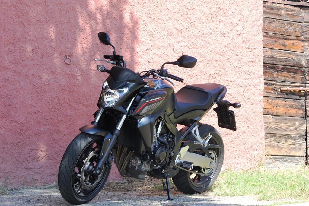 La Honda CB650F, nuovo concetto legato alle naked