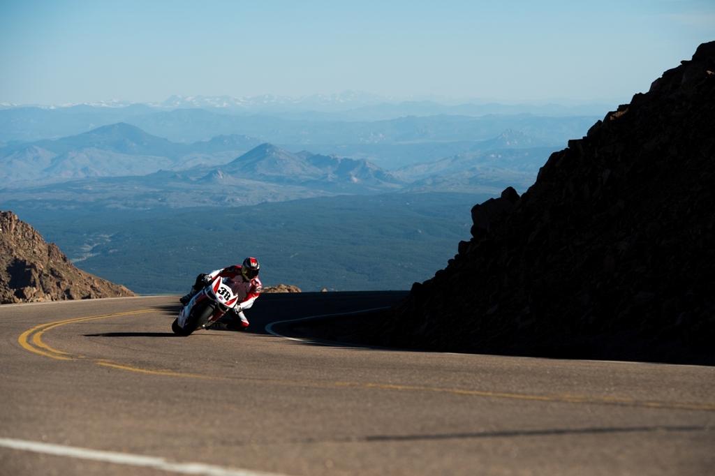 Lambert Fabrice alla Pikes Peak