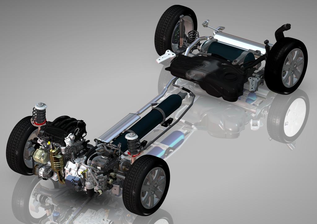 Schema trasmissione e motore di 2008 Peugeot