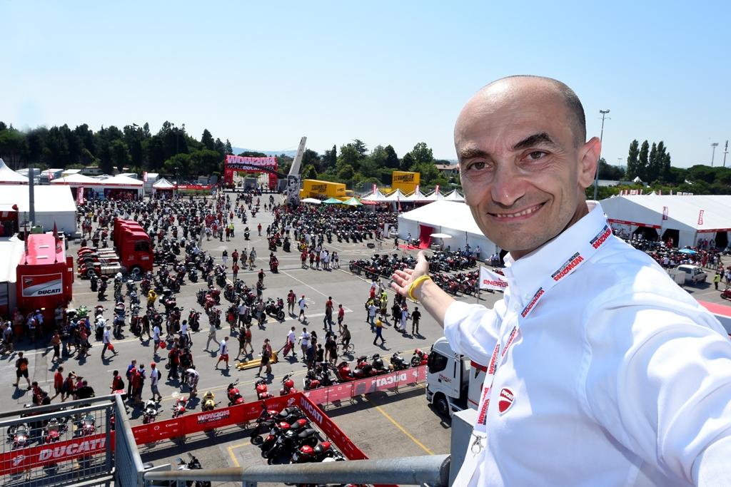 Claudio Domenicali apre il WDW 2014