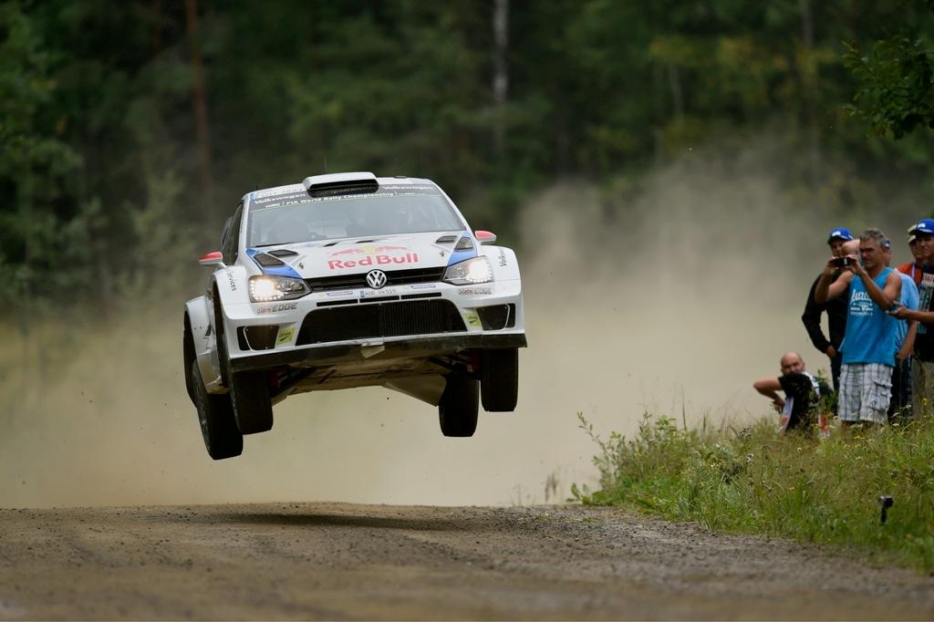 Lo spettacolo del Rally di Finlandia 2014 e la Polo R WRC