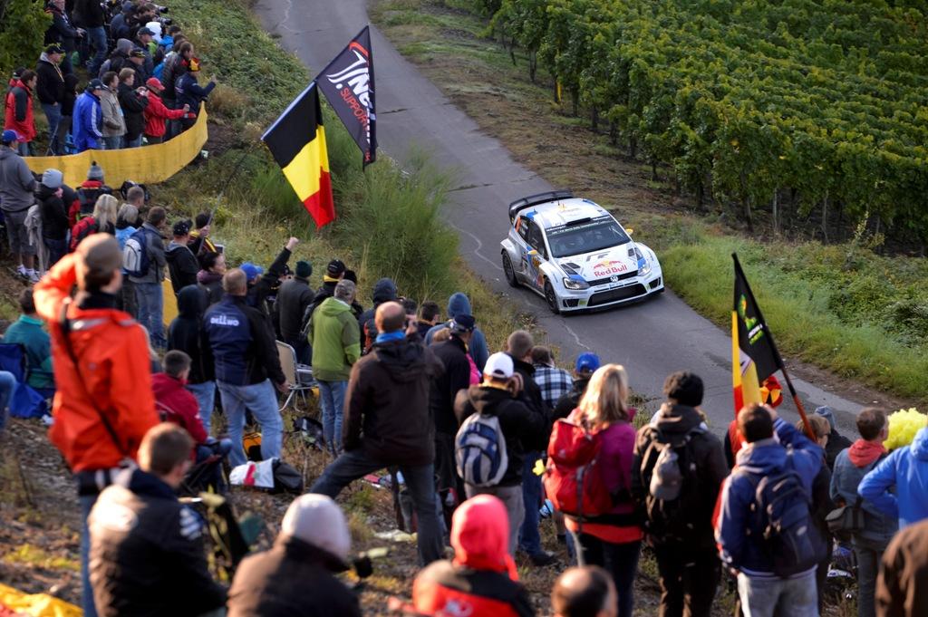 WRC 2014, Rally Germania, delusione grande per VW