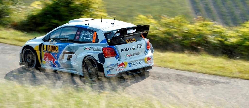 WRC 2014: il Team Volkswagen prova sulle strade tedesche