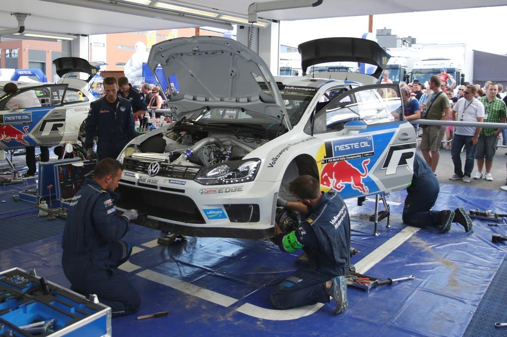WRC 2014: il team Volkswagen prepara la gara di casa del Rally du Germania