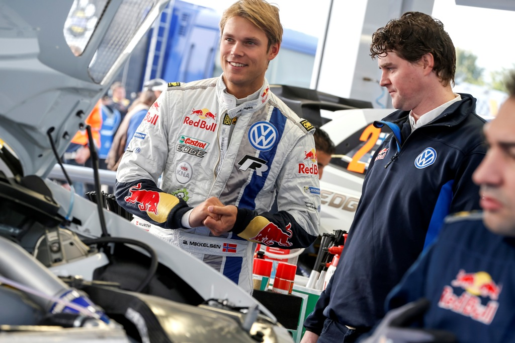 Andreas Mikkelsen, WRC 2014, Rally Germania