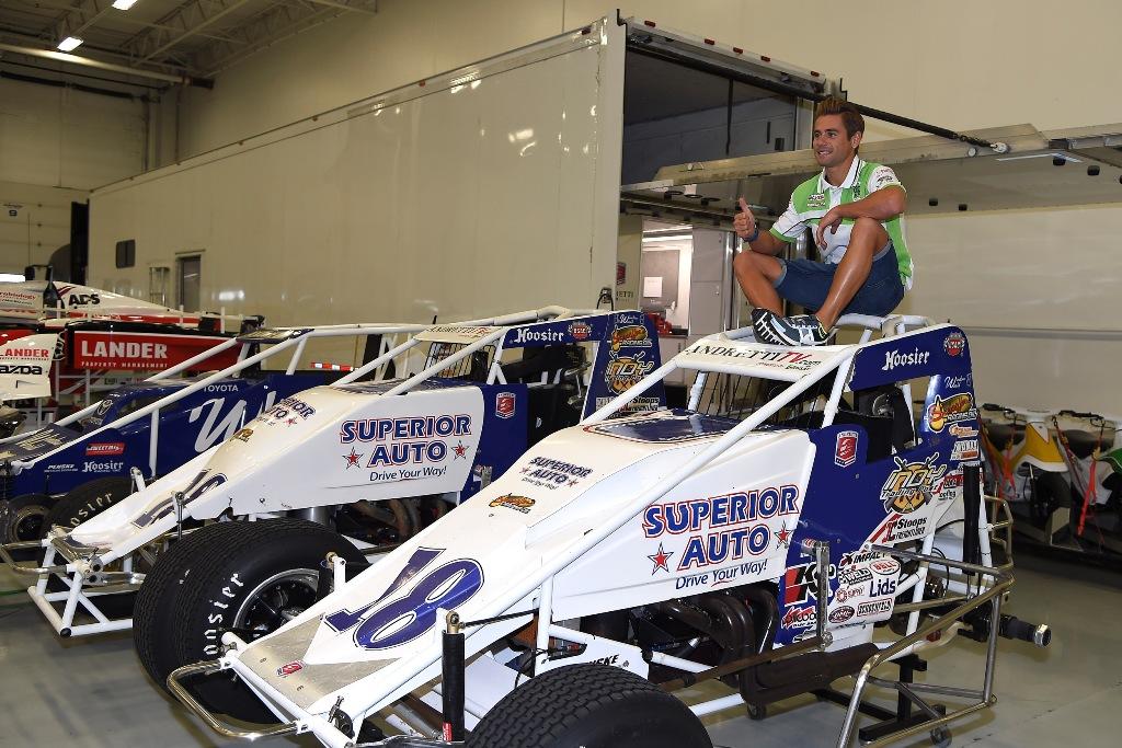 Molte le attività dell'Andretti Autosport: WRX, Midjet, F.Indy e molto altro