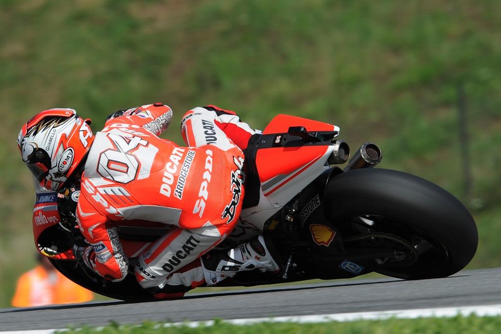 MotoGP, Round 11: Andrea Dovizioso in gara a Brno 2014