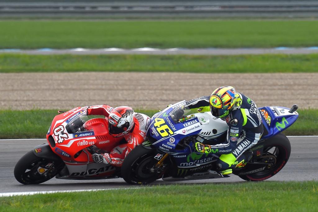 Indianapolis 2014 MotoGP: il duello Dovizioso/Rossi