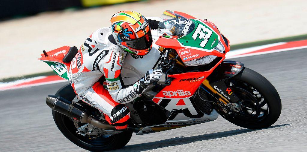 Marco Melandri Aprilia Racing