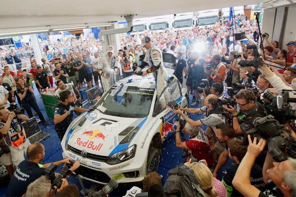 Il trionfo della coppia Latvala/Antilla al Rally di Finlandia 2014