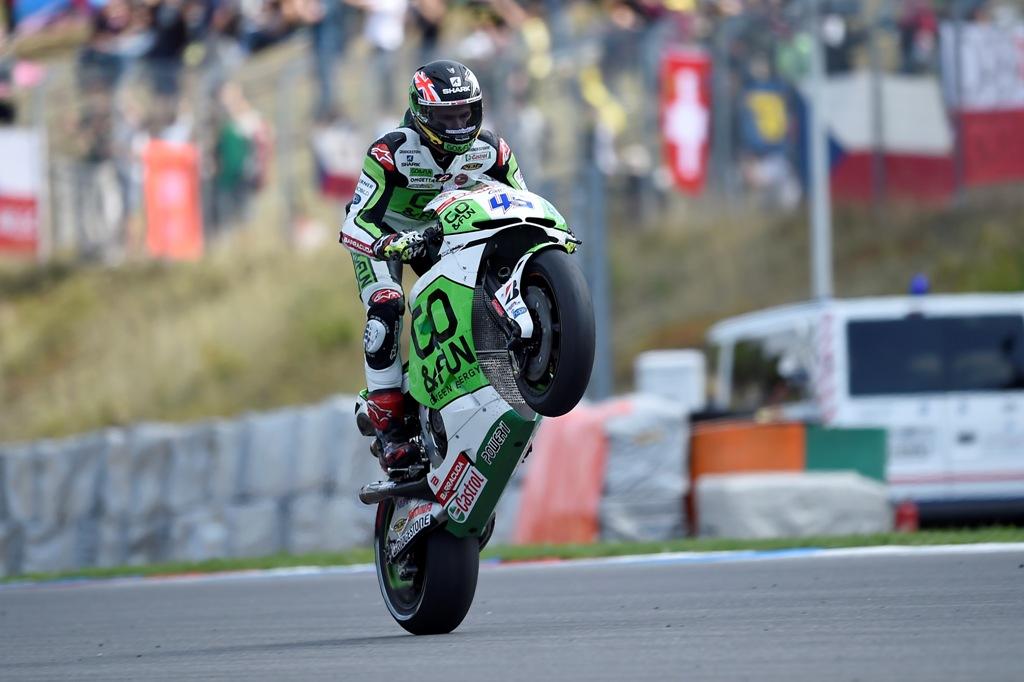 Scott Redding, MotoGP Brno 2014, continui progressi