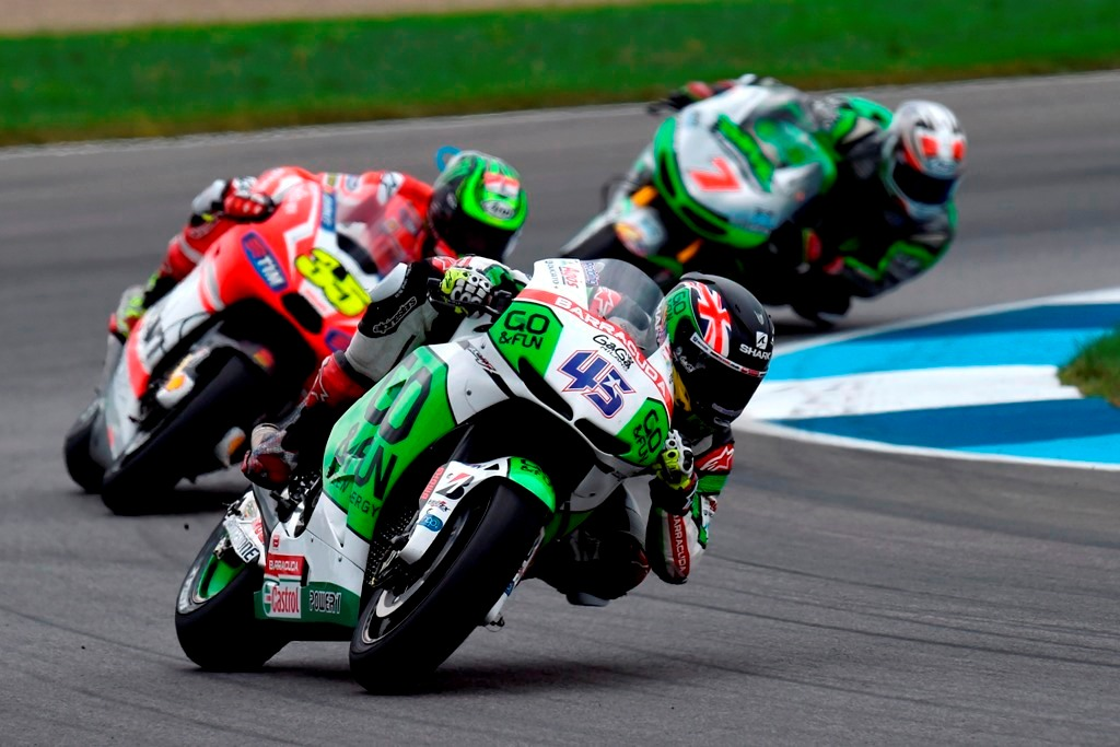 Scott Redding a Indianapolis.2014 MotoGP, primo della Open