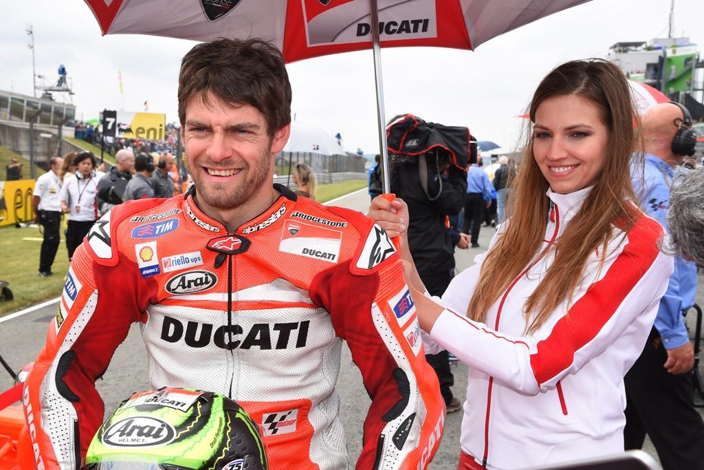 Cal Crutchlow.lascia Ducati per la Honda LCR