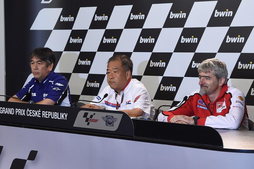 MotoGP Brno 2014: l'Ing Dall'Igna in conferenza stampa a Brno