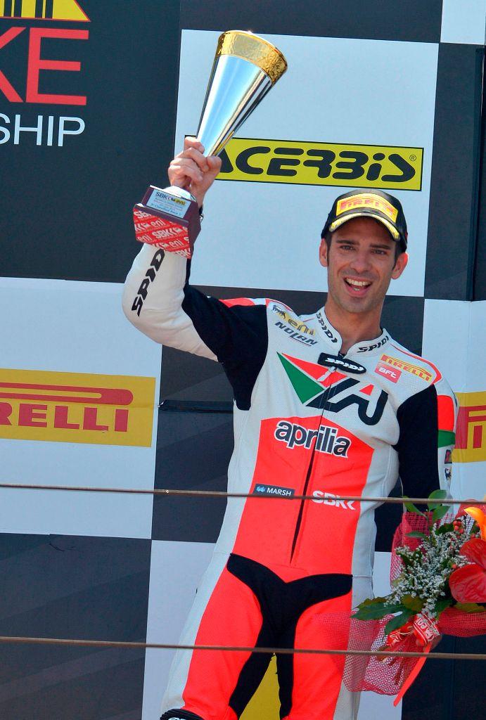 Marco Melandri un grande podio italiano