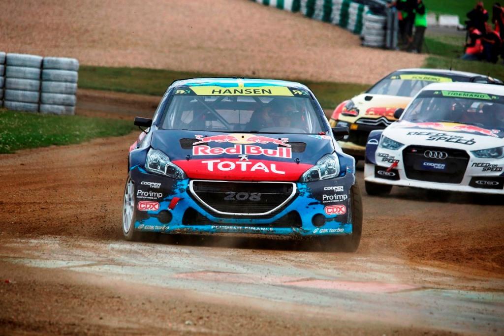 2014 FIA World Rallycross Championship: la Peugeot 208  T16 WRX