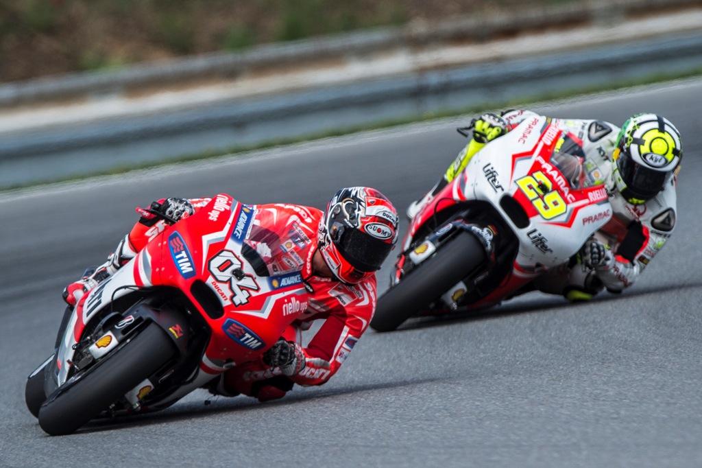 MotoGP 2014, Round 11, Brno 2014: Andrea Dovizioso.con Andrea Iannone